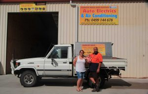 Benny Bulat's mobile Rainbow Beach Auto Electrics service now has permanent digs!