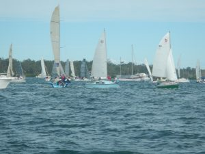 Annual Bay to Bay Trailable Yacht Race - Image Lee Bubb