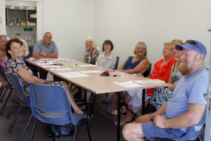 The Rainbow Beach Community Centre meeting room swelled with the CIRS AGM crowd last month - and in the front, Mark McIntosh was welcomed as the new vice president