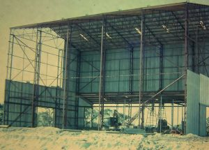 June 1965 - Building the Sand Mining Dry Plant