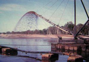 1969 - sand mining pond