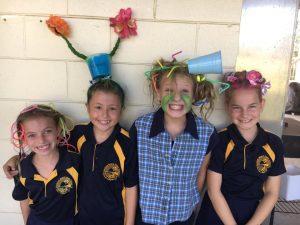 "Ruby, Ella, ""spilt milkshake"" Shailah and Ella have a really CRAZY hair day!"