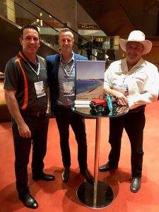 Heatley Gilmore, Rainbow Getaway, Andrew Saunders, VSC and Andrew McCarthy, Rainbow Beach Horserides were the local representatives at the 2017 ANC Inbound Roadshow