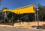 We can't wait for the flying fox at the new Lawrie Hanson playground