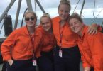 16-year-old Jasmin Betteridge from Rainbow Beach experienced life in the Navy on a holiday work experience program