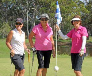 Julie Mulhall, Helen Joyce and Chris Hervey say come join us! Image Patsy Brady