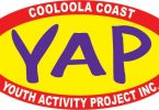 Cooloola Coast Youth Activity Project logo - YAP