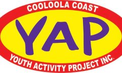 Cooloola Coast Youth Activity Project logo - YAP