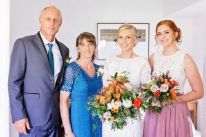 The McFarlanes: Grant, Kathy, Hayley and Rachel