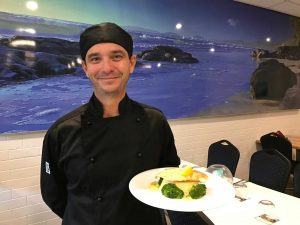 Head Chef Ronny Nuttall promises the best local produce with the new menu at Coffee Rocks