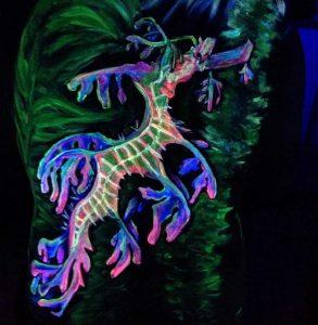 Mary Valley Arts Festival  - UV art 1 - Holly Hughes