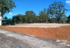 Check out the progress Council has made on the Tin Can Bay Community Men's Shed site, near the Community Complex