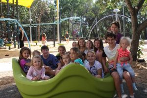 Playground upgrade Lawrie Hanson Park at Rainbow Beach