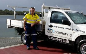 If you are after custom-made fabrication welding and drafting, Russell Jensen from 4D Engineering is the man for the job