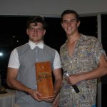 The Most Unusual Experience Award had something to do with an IRB crewie falling in, then a driver flipping the boat, congratulations Edwin Thompson and Alex Wilson
