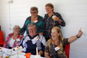 Tin Can Bay Craft Club members know how to celebrate!