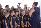 Rainbow Beach State School Choir on ANZAC Day