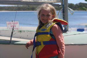 Why not learn to sail, like Martha Taunton-Burnet?