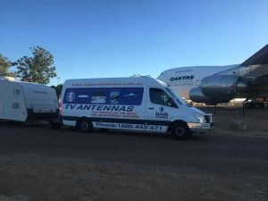 Saturn in Longreach and the QANTAS Founders Museum