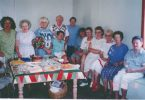 The first members of the club in 1992: Rae Morton, Elenor Woodrow, Bern Vantilburg, Lisa Cohn. Jean Rowe , Robyn Loft, unknown, Patricia Smith, Shirley Sharper, Dulcie Sollaye and a visitor on the day, taking the photo was president Margaret Robinson Image supplied