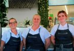 Leanne Modin, Kerri Jordison and Jordi Jones are super excited to be part of the Sea Salt Café @ Rainbow, the newest addition to the Rainbow Beach café scene