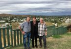 Ex-Rainbow residents, Mike and Angie Matveyev catch up with Peter Grant in Mount Isa