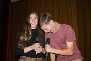 Emme Muggleton and Nelson Alexander performed Master of Ceremonies for the Sound of Teen Spirit concert