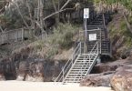 Still no resolution for the beach steps