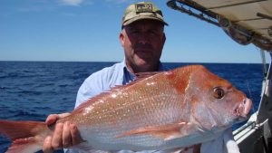 Steven is happy with this quality snapper