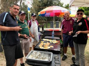 After their annual stint at the BBQ for the RBSLSC Nippers Carnival, Rainbow Beach RSL Sub Branch members invite you to their Remembrance Day Service