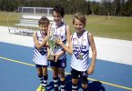 Brothers Alex, Charlie and Nathan Kingsley played in the same team and won their AFL grand final