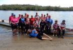 Cooloola Dragons joined in on a 17km paddle last month