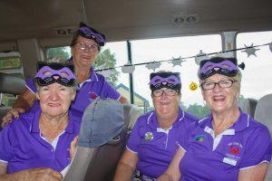 Tin Can Bay Golf Club - The Cats - Pam Ottaway, Janet Reibel, Sandra Reibel and Jude De La Cruz