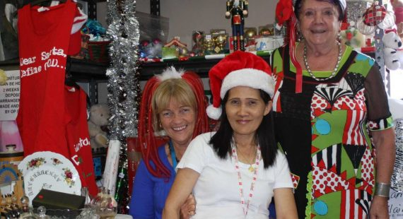Run by the Tin Can Bay Community Church, carols are on December 10 in Tin Cna Bay - the group also run the local Op Shop