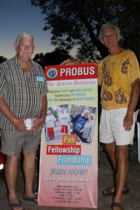 Frank and Manfred from the Cooloola Coast Probus Club