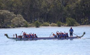 Come and join the friendly dragon boaters