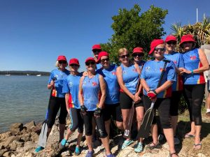 Join the Dragon Boat club for fitness and fun