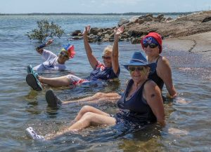 The Australia Challenge at Norman Point is on again - this time hosted by the Cooloola Dragon Boat Club