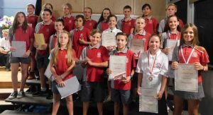 Congratulations Year 6 Academic Award Winners: Gold and Silver awards were given to students in recognition of their academic excellence and achievement with Bronze awards presented to those who demonstrated excellent effort and behaviour