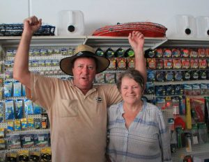 Wayne and Cheryl Jones are happy to open up their doors again, to a brand new shop!
