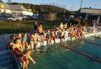 Swim club break up for Christmas at the Rainbow Beach Aquatic Centre