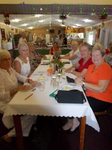 Craft club members Jean Sealy, Sandra Bonell, Linda Brown, Shirley McLean, Thea Beswich, Maree Uhl, Pam Ottaway, and Dawn McGinley