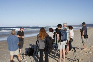 Last year's Instameet was organised with sunset and Rainbow Beach Horserides