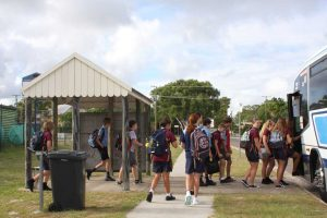 Local Bob Walliker suggests an alternative is needed for the inadequate Rainbow Beach bus shelter
