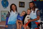 The Strong Family: Jacqui, Ethan (7), Charly (9) and Chiropractor, Dr Dan are ready to help and heal!