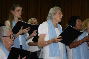 Coolabay Choir performing