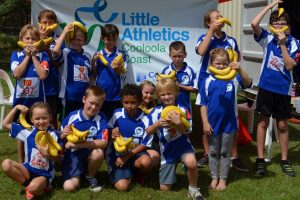 Little athletes are going bananas thanks to sponsorship!