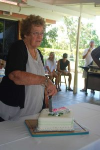 Sylvia Reibel 90th birthday