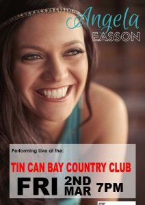 Angela Easson at the Country Club