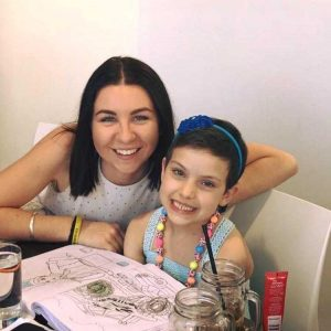 Annmarie Van Oirschot will shave to help Bella Allan, and other children with leukaemia and their families